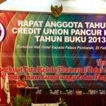 RAPAT ANGGOTA TAHUN (RAT) PLENO TB 2013 CU PANCUR KASIH