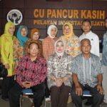 Kunjungan Disperindagkop Kota Bandung ke CU Pancur Kasih