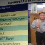 CUPK URUTAN KE-3 DALAM 100 BESAR KOPERASI INDONESIA