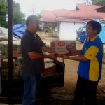 Solidaritas Sosial CU Pancur Kasih Terhadap Korban Banjir Kec. Karangan