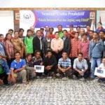 Seminar Usaha Produktif Teknik Bertanam Padi dan Jagung yang Efektif