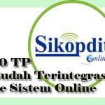 10 TP Sudah Terintegrasi ke Sistem Online
