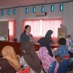 Sosialisasi Koperasi Kredit (Kopdit) CU Pancur Kasih ke Ibu Arisan Dharma Wanita Dinsos