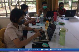 CU Pancur Kasih Mengikuti Pelatihan Jurnalistik