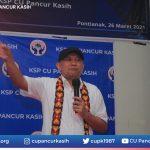Menteri Koperasi dan UKM RI Menyambangi CU Pancur Kasih